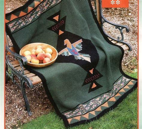 afghan crochet pattern southwest blanket