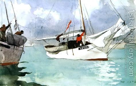 fishing boats key west by winslow homer 333 best ships and boat paintings images on pinterest