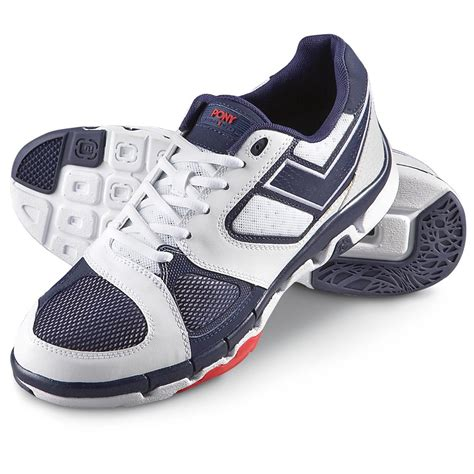 pony athletic shoes s pony 174 eclipse athletic shoes blue white