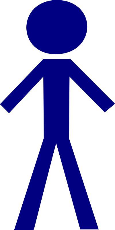 clipart persone stick figure by nicubunu stick figure