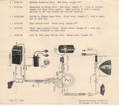 harley ignition switch wiring diagram 1957 wiring