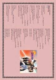 english themes music english worksheets icarly theme song