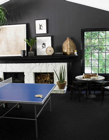 black painted rooms dwellers without decorators black painted room yes please