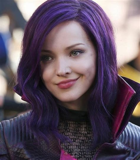 mal hair different color hair on pinterest sofia carson dove