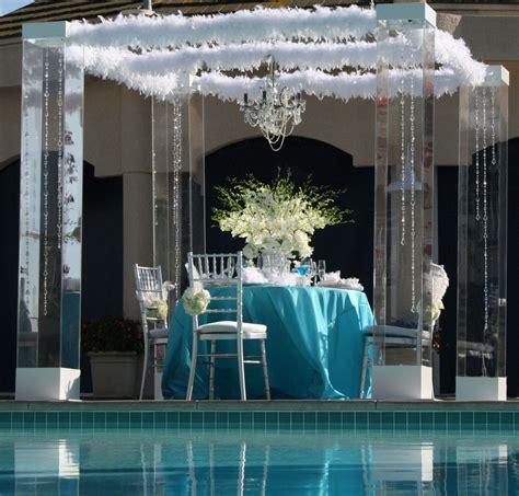 Wedding Arch Rentals Los Angeles by Acrylic Wedding Chuppah Canopy Altar Arch Rentals Miami