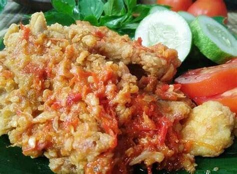 resep ayam geprek wong klaten ayam goreng tepung sambal