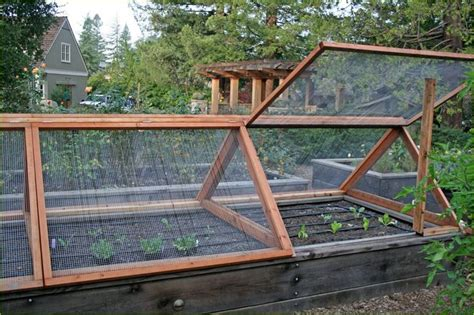 Raised Garden Fence Ideas Raised Garden Bed Design The Vegetable Garden Fence Ideas Vegetable Gardening Pinterest