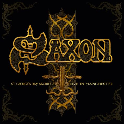 s day live saxon album pre listening zu st george s day live in