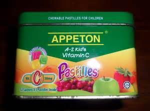 Appeton A Z Kid S Vitamin C tabung tin appeton hobby collection hobi koleksi