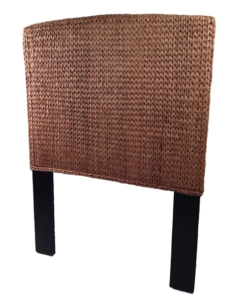 rattan headboard double seagrass twin headboard miramar