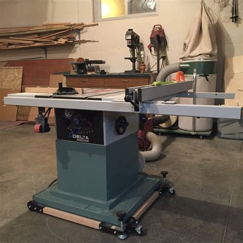 Delta Table Saw Dust Collection Table Design Ideas