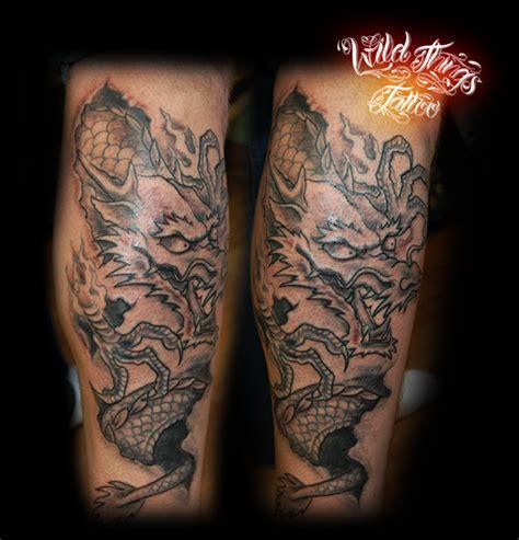 dragon leg tattoo japanese dragon leg tattoo by wildthingstattoo on deviantart