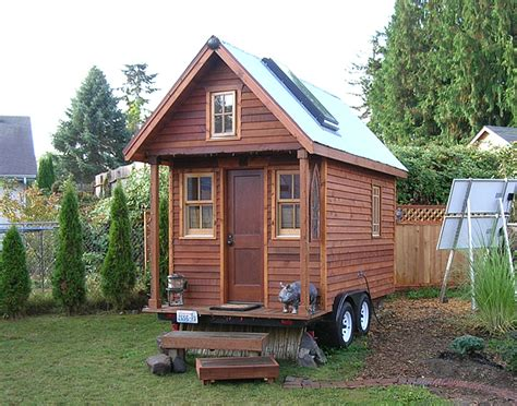 tiny homes to build tiny house and the building code