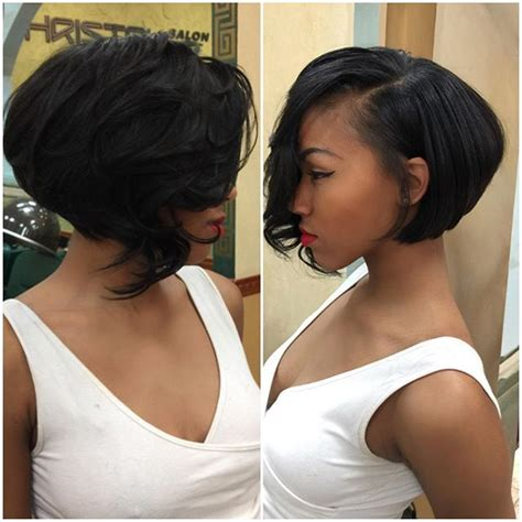angled bob sew in angled layered bob sew in this look is perfect for the