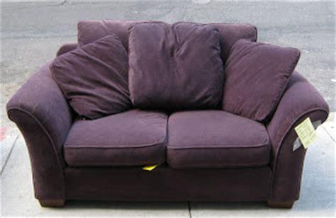 Purple Furniture Donations by Uhuru Furniture Collectibles Purple Sofa Loveseat