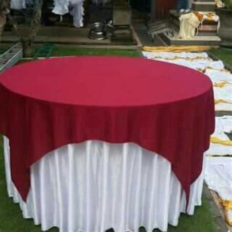 Taplak Meja Bulat 3 jual taplak meja sarung meja bulat merah putih harga murah jakarta oleh ricky jaya tenda