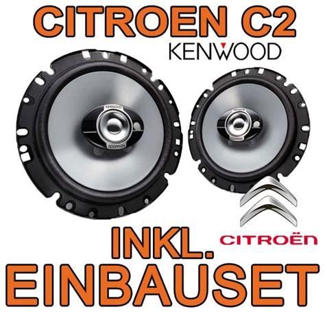 citroen c2 200w kenwood 3 wege lautsprecher boxen einbau - Tür Einbauen