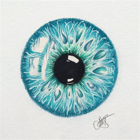 iris art drawing eye on Instagram