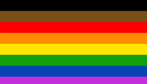 pride colors philly s pride flag to get two new stripes black and