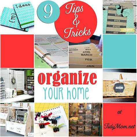 home organization tips organizing tips for the home