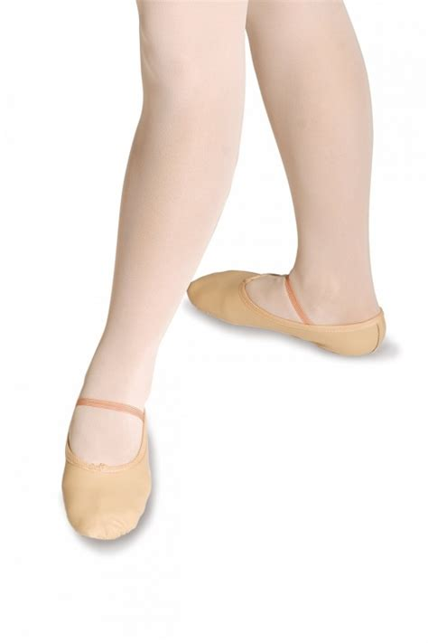 roch valley split sole leather ballet shoes 2ssl from