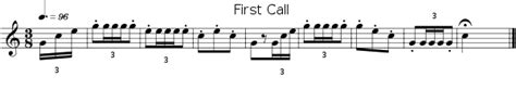 bugle tattoo mp3 first call wikipedia