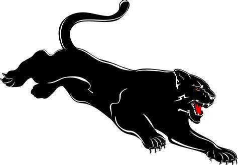 panther clip black panther clipart clipart suggest