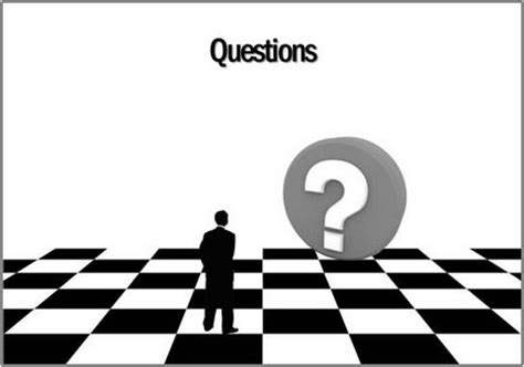 question and answer powerpoint template how to create silhouettes in powerpoint