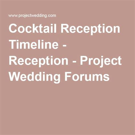17  best ideas about Wedding Reception Timeline on