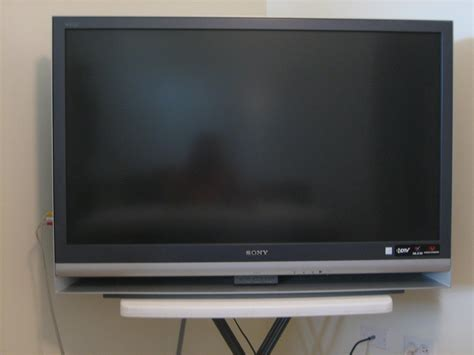 Tv Stand For 50 Inch Tv by Sony 46 5 Inch Lcd Rear Projection Television