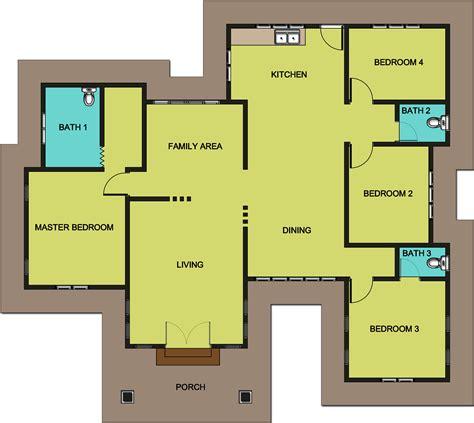 layout rumah 4 bilik pelan lantai banglo setingkat 4 bilik www pixshark com