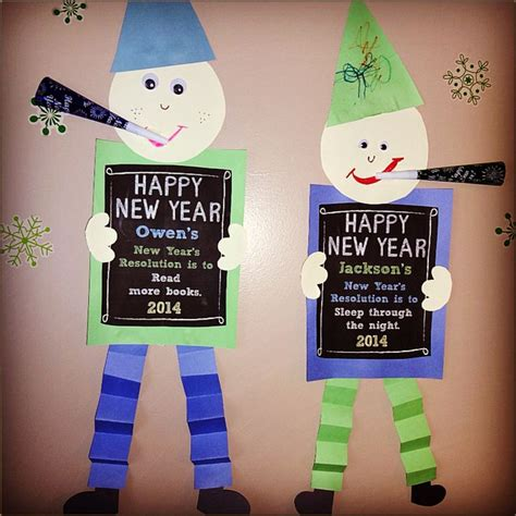 new year craft ideas for 99 best new year school images on day care