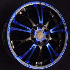 Wheels Blue Truck With Motorcycles G Line Alloys