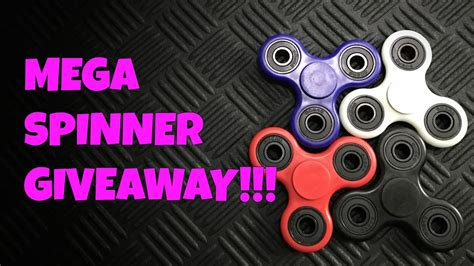 spinner giveaway snp gears fidget spinner toy youtube - Spinner Giveaway