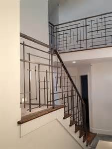 Unique Handrails Custom Railing Contemporary Staircase Seattle By