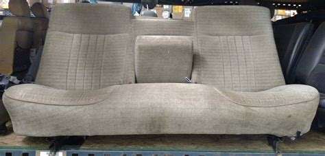 1995 ford f150 bench seat 1991 ford f150 bench seat tan cloth small stains