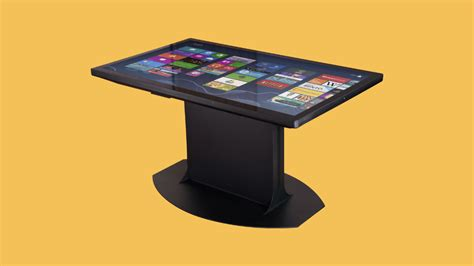 android table multitouch coffee table with windows 8 and android