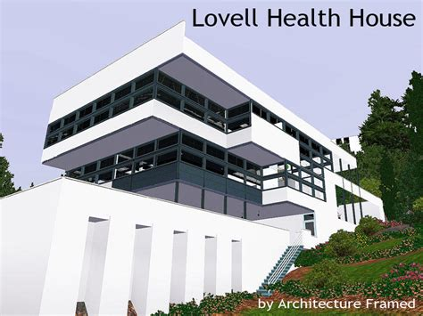 Lovell House by Framedarchitecture S Lovell Health House