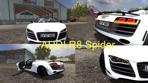 Audi R8 Spider v 1.1 [MP] ? Farming simulator 2013 Mod Farming Simulator Mods