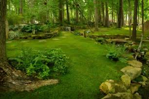country backyard look amazing landscape
