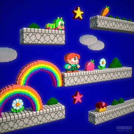 Gamis Rainbow sevensheaven inside rainbow islands the chimp