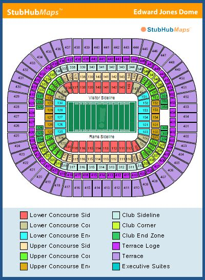 stl stadium seating chart st louis rams stadium seating capacity 28 pictures about