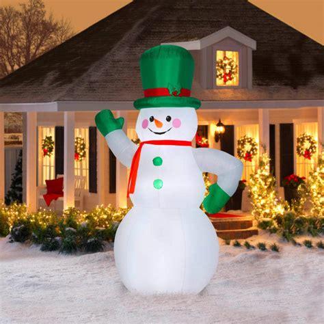 Decoration Ebay - santa green 10 ft snowman