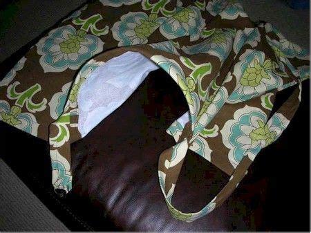 Handmade Nursing Cover - make your own nursing cover crafty ideas