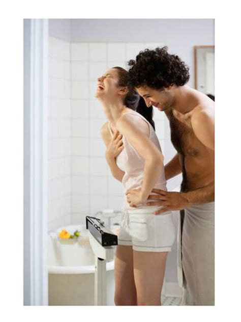 bathroom couple sex things men love what men want women to love about them