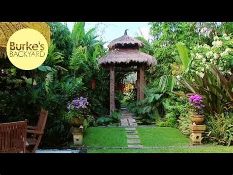 burks backyard burke s backyard dennis hundscheidt s garden youtube