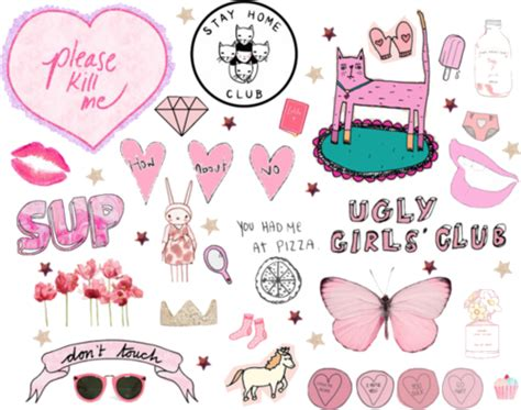 imagenes png we heart it collage via tumblr discovered by camila lago