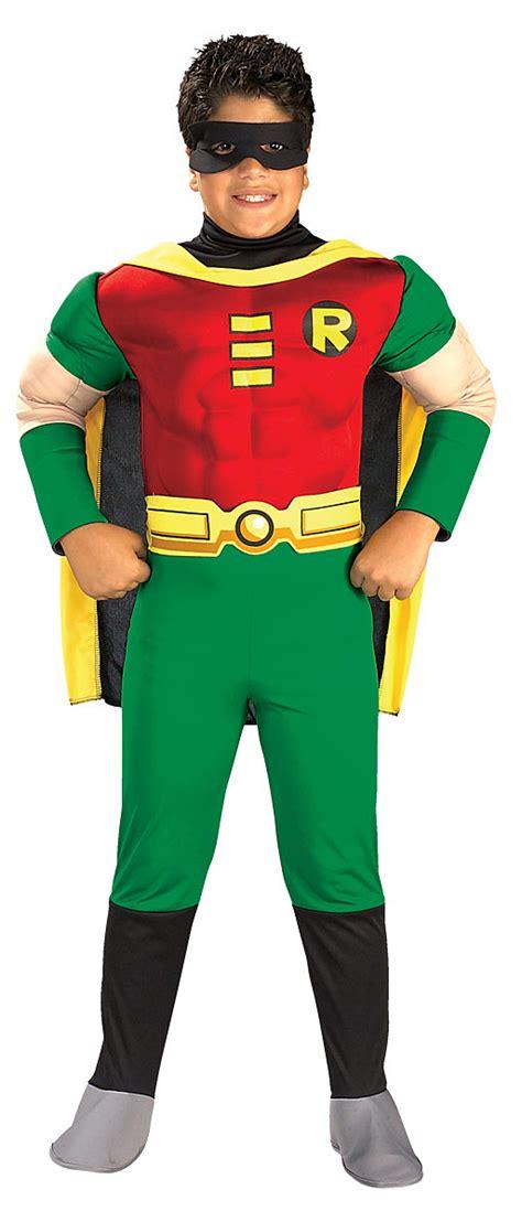 Kaos Batman 8 Boy Clothing boy s deluxe chest robin costume tv