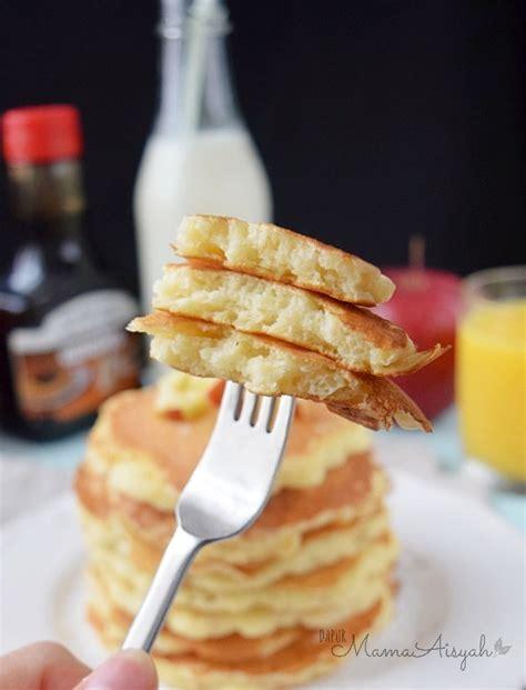 resep membuat pancake empuk dapur mama aisyah fluffy pancakes resep tips membuat