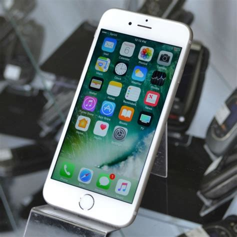 Iphone 6s 16gb Original Garansi B Cell 1 Tahun Grey apple iphone 6s 16gb white a1633 excellent used sprint smartphone for sale